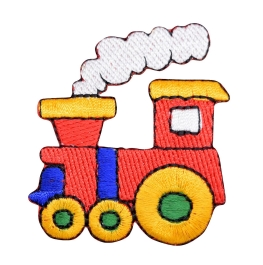 Colorful Childrens Choo Choo Train Engine