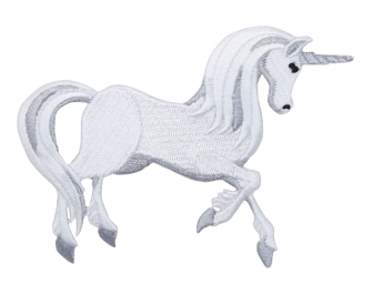 White/Gray Unicorn - Magical Creature