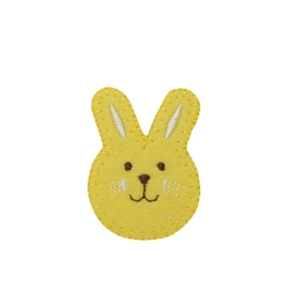 Yellow Bunny Face